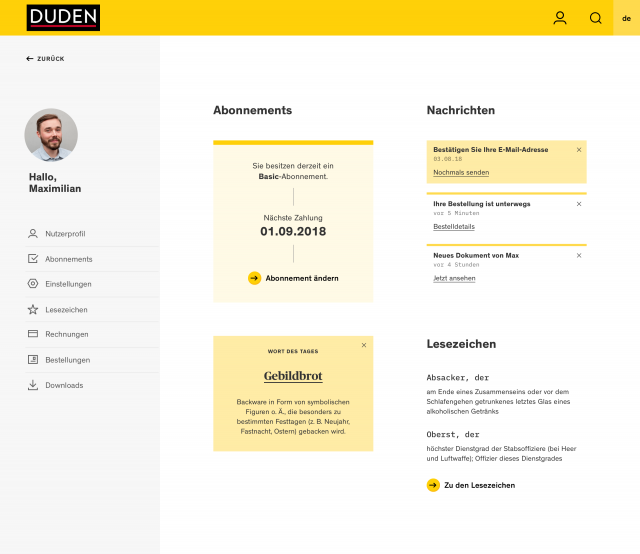 dudenonline-userprofile-dashboard
