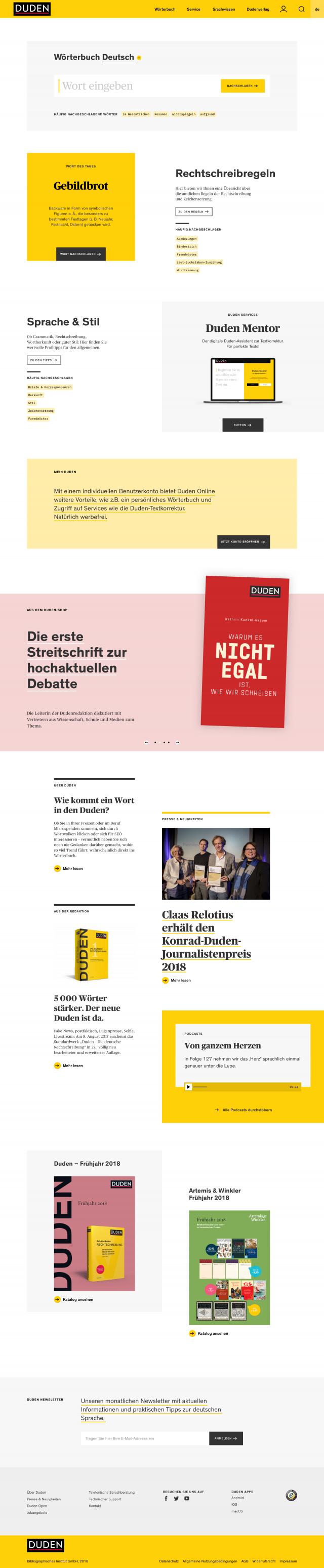 dudenonline-startpage